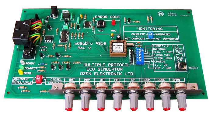 Ozen Elektronik - Multiple Protocol OBD ECU Simulator